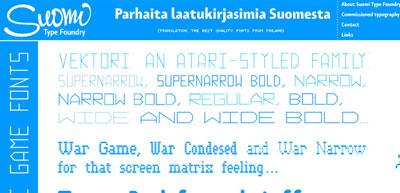 Tomi Haaparanta Typography