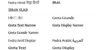 Fedra Arabic The Typographic Matchmaking experience